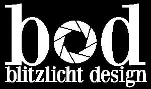 Blitzlicht Design Logo White